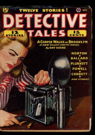 Detective Tales - 10/45 - Condition: G-VG - Popular