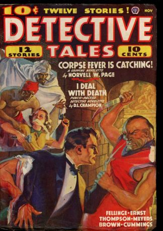 Detective Tales - 11/38 - Condition: VG - Popular