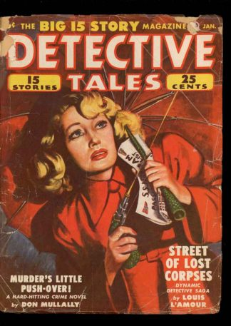 Detective Tales - 01/50 - Condition: G-VG - Popular