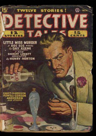 Detective Tales - 11/46 - Condition: FA-G - Popular