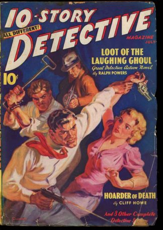 10-Story Detective Magazine - 07/38 - Condition: G-VG - Ace
