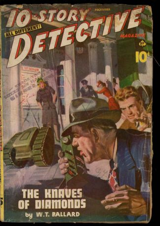 10-Story Detective Magazine - 12/44 - Condition: G-VG - Ace