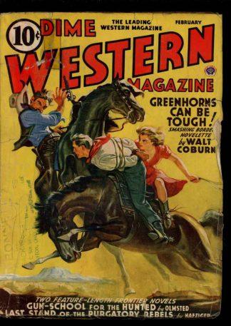 Dime Western Magazine - 02/41 - Condition: G-VG - Popular