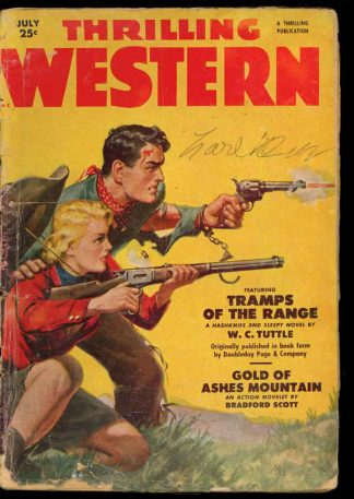 Thrilling Western - 07/51 - Condition: G - Thrilling