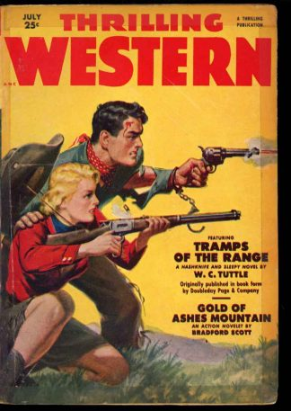 Thrilling Western - 07/51 - Condition: FA-G - Thrilling