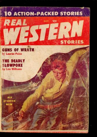 Real Western Stories - 10/57 - Condition: G - Columbia