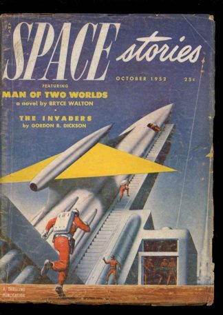 Space Stories - 10/52 - Condition: FN - Thrilling