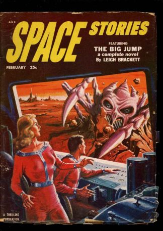 Space Stories - 02/53 - Condition: VG - Thrilling