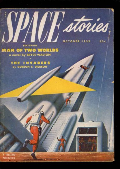 Space Stories - 10/52 - Condition: VG - Thrilling