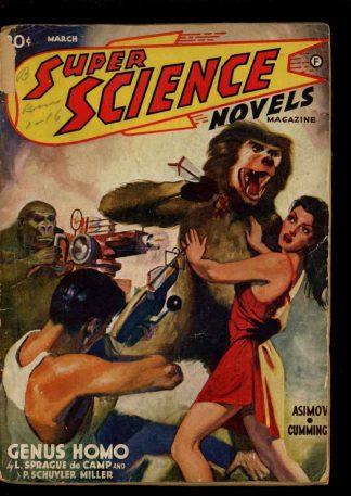 Super Science Novels Magazine - 03/41 - Condition: FA - Popular