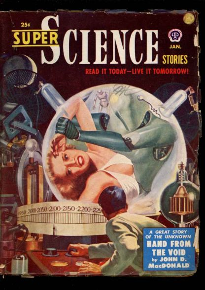 Super Science Stories - 01/51 - Condition: VG - Popular