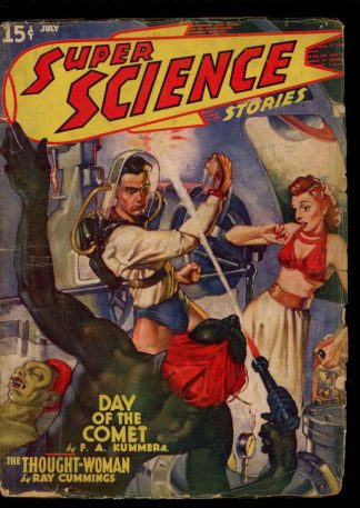 Super Science Stories - 07/40 - Condition: G - Popular