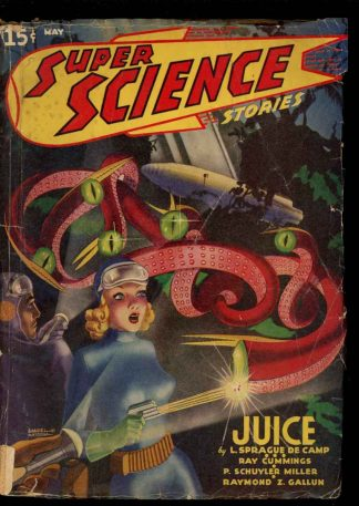 Super Science Stories - 05/40 - Condition: G - Popular