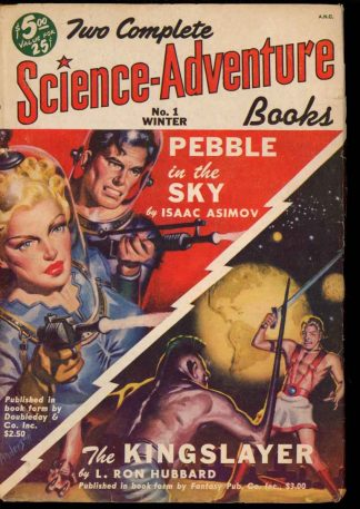 Two Complete Science-Adventure Books - WINTER/50 - Condition: VG - Fiction House