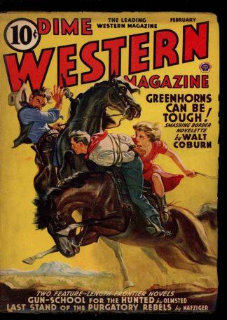 Dime Western Magazine - 02/41 - Condition: VG - Popular