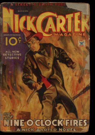 Nick Carter Magazine - 04/35 - Condition: FA - Street & Smith