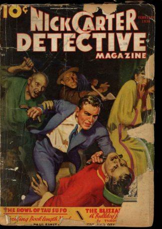 Nick Carter Detective Magazine - 02/36 - Condition: FA - Street & Smith