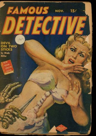 Famous Detective - 11/49 - Condition: G - Columbia