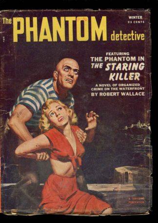 Phantom Detective - WINTER/53 - Condition: G-VG - Thrilling