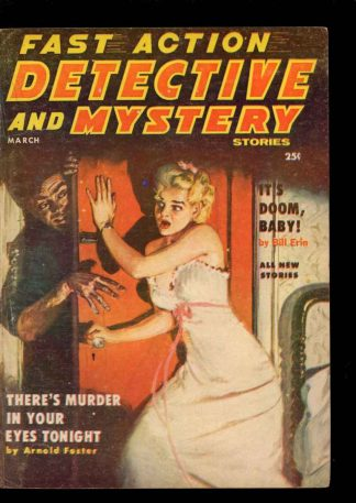 Fast Action Detective And Mystery Stories - 03/57 - Condition: VG - Columbia