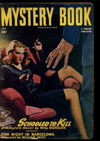Mystery Book Magazine - FALL/47 - Condition: VG - Thrilling
