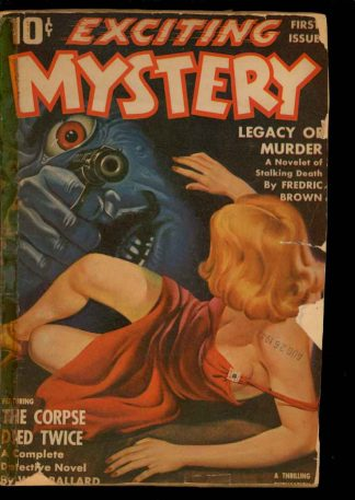 Exciting Mystery - 10/42 - Condition: FA-G - Thrilling