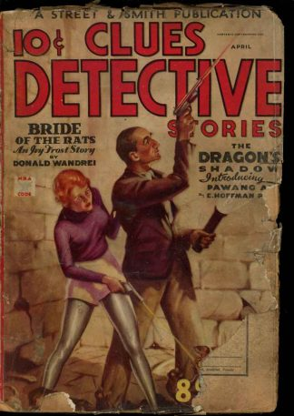 Clues Detective Stories - 04/35 - Condition: G - Street & Smith