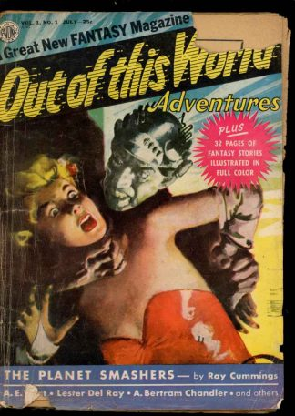 Out Of This World Adventures - 07/50 - Condition: G-VG - Avon