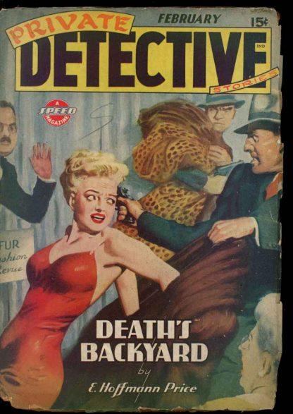 Private Detective Stories - 02/44 - Condition: G - Trojan