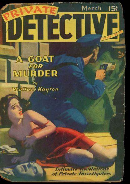 Private Detective Stories - 03/40 - Condition: G - Trojan