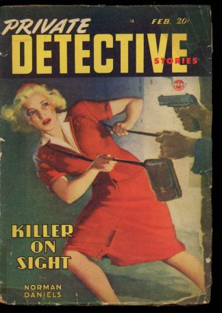 Private Detective Stories - 02/48 - Condition: G-VG - Trojan