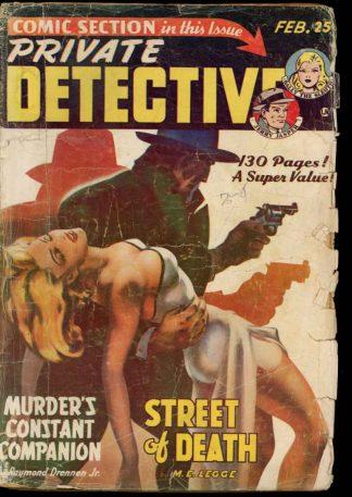Private Detective Stories - 02/50 - Condition: G - Trojan