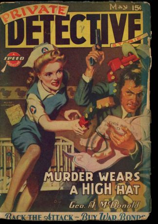 Private Detective Stories - 05/44 - Condition: G-VG - Trojan
