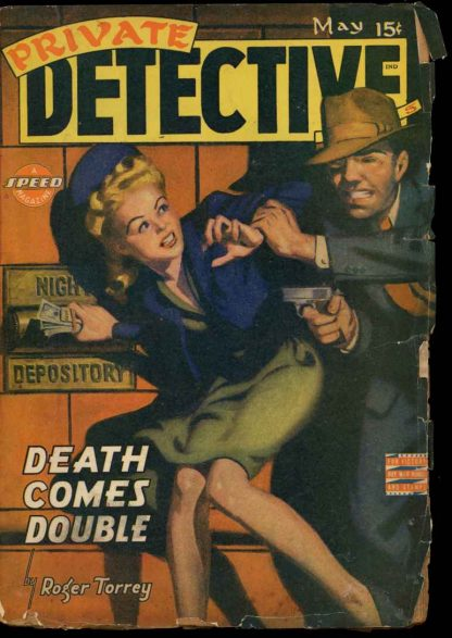 Private Detective Stories - 05/43 - Condition: G-VG - Trojan