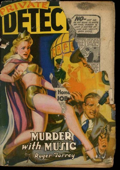 Private Detective Stories - 01/42 - Condition: FA - Trojan