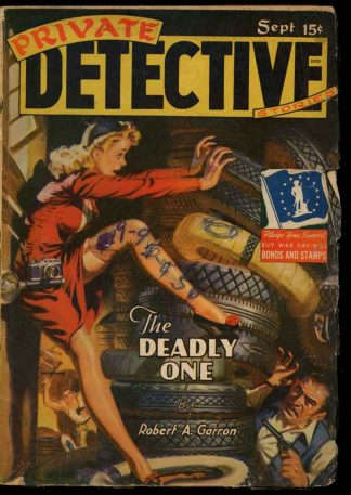 Private Detective Stories - 09/42 - Condition: G-VG - Trojan