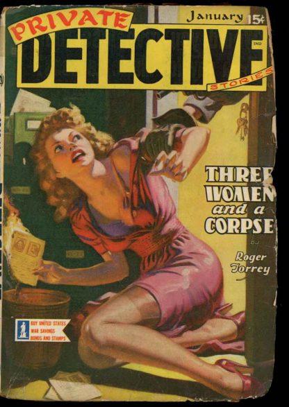 Private Detective Stories - 01/43 - Condition: FA-G - Trojan
