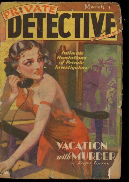 Private Detective Stories - 03/39 - Condition: PR-FA - Trojan