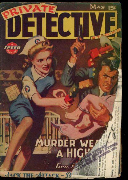 Private Detective Stories - 05/44 - Condition: G - Trojan