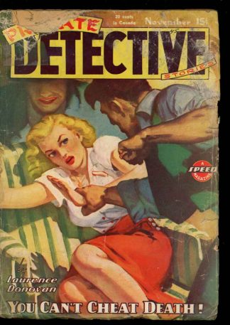 Private Detective Stories - 11/45 - Condition: G - Trojan
