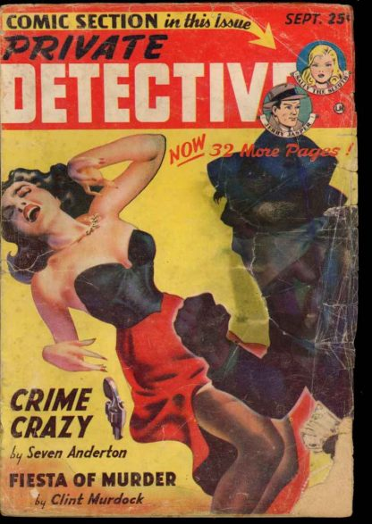 Private Detective - 09/49 - Condition: G - Trojan
