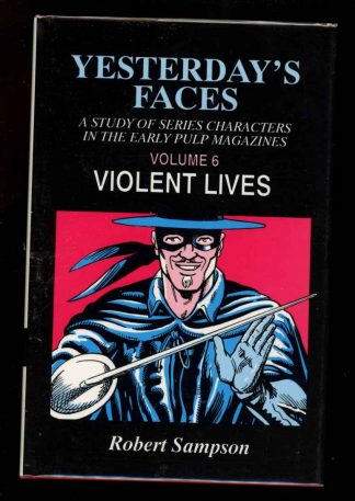 Yesterday's Faces: Violent Lives - VOL. 6 - 1st Print - -/93 - FN/FN - 74-104515
