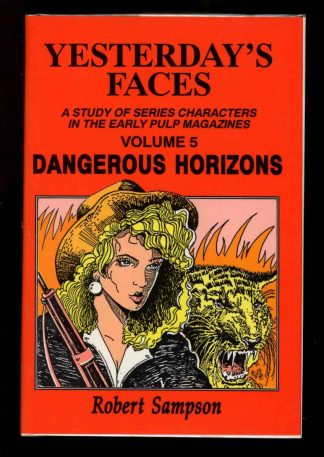 Yesterday's Faces: Dangerous Horizons - VOL. 5 - 1st Print - -/91 - FN/FN - 74-104517
