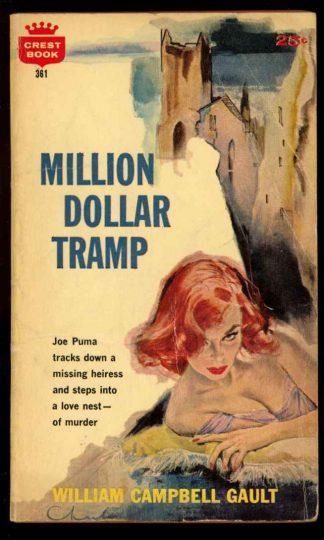 Million Dollar Tramp - 1st Print - #361 - 03/60 - VG - 74-104572