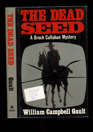 Dead Seed - 1st Print – Signed - -/84 - NF/NF - 74-104589