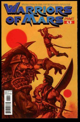 Warriors Of Mars - #4 - 08/12 - 9.6 - 83-45577
