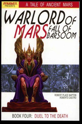 Warlord Of Mars: Fall Of Barsoom - #4 – CVR A - 10/11 - 9.6 - 83-45593