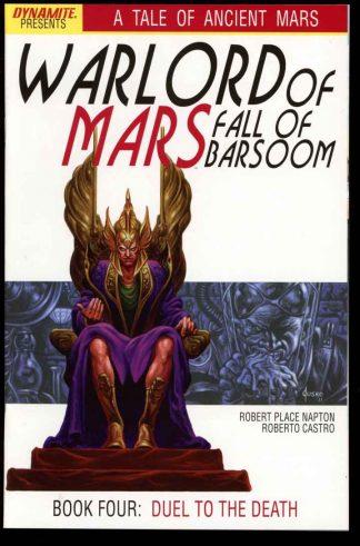 Warlord Of Mars: Fall Of Barsoom - #4 – CVR A - 10/11 - 9.6 - 83-45594