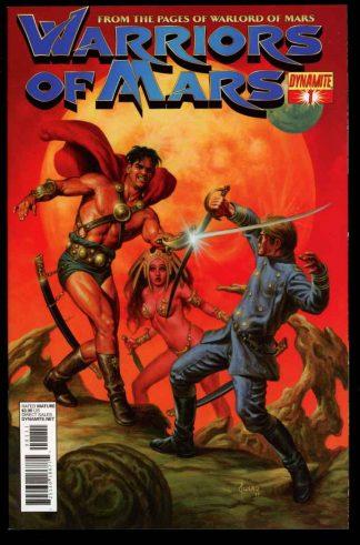 Warriors Of Mars - #1 – CVR A - 02/12 - 9.6 - 83-45604