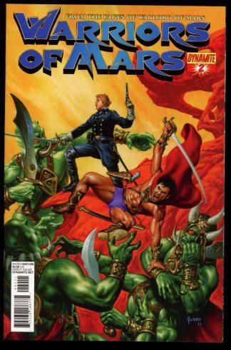 Warriors Of Mars - #2 – MAIN CVR - 03/12 - 9.6 - 83-45605